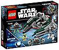 75168 Lego Star Wars Звёздный истребитель Йоды™, Лего Звездные войны, фото 2