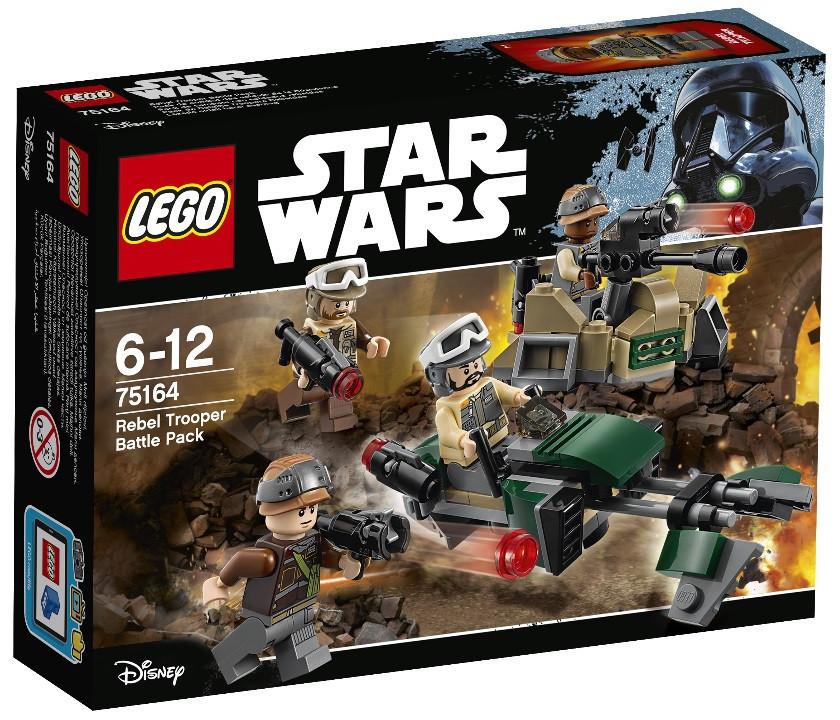 75164 Lego Star Wars Боевой набор Повстанцев™, Лего Звездные войны