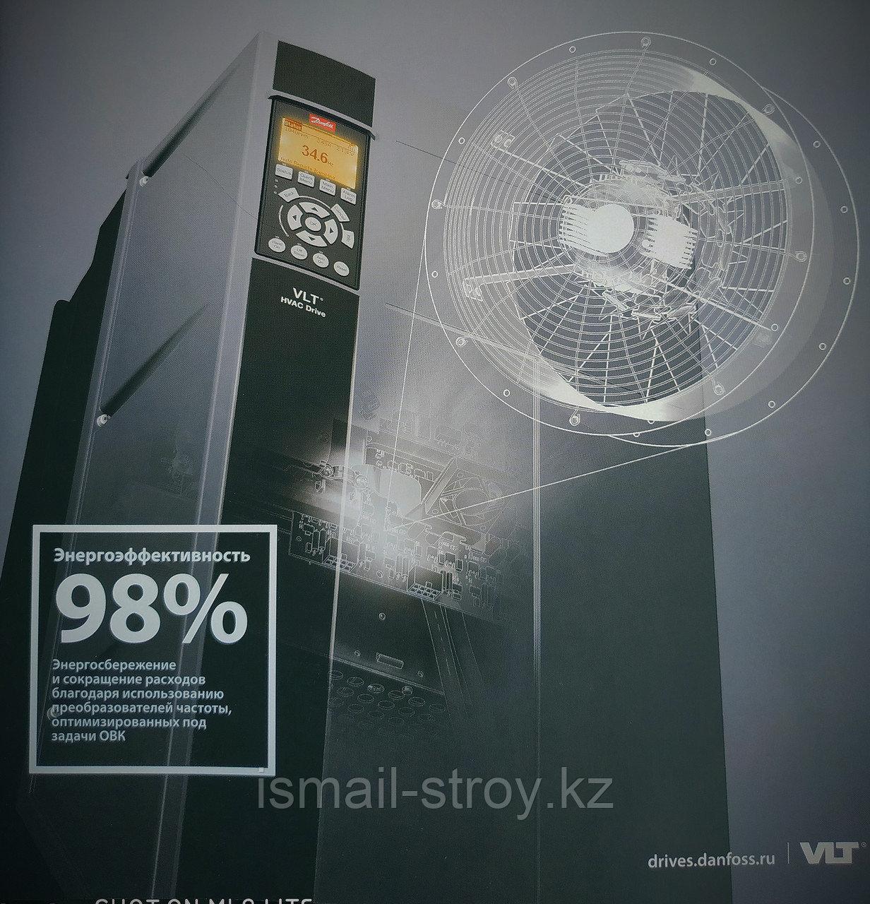 Преобразователь частоты VLT HVAC Drive FC 102, 131G2137, 1,1 кВт