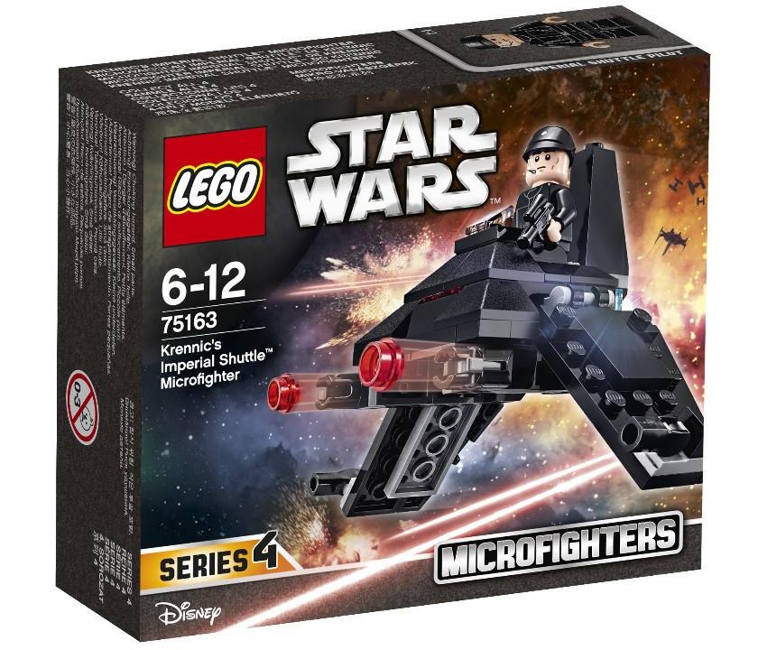75163 Lego Star Wars Микроистребитель Имперский шаттл Кренника™, Лего Звездные войны