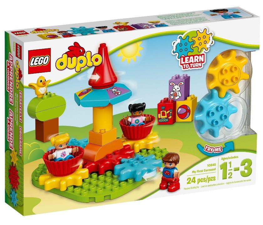 10845 Lego Duplo Моя первая карусель, Лего Дупло