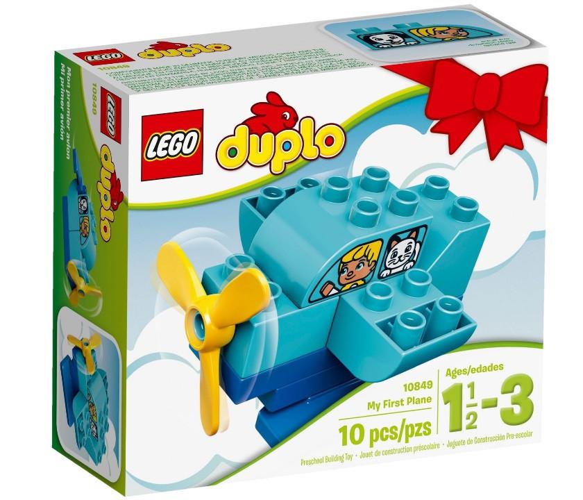 10849 Lego Duplo Мой первый самолёт, Лего Дупло