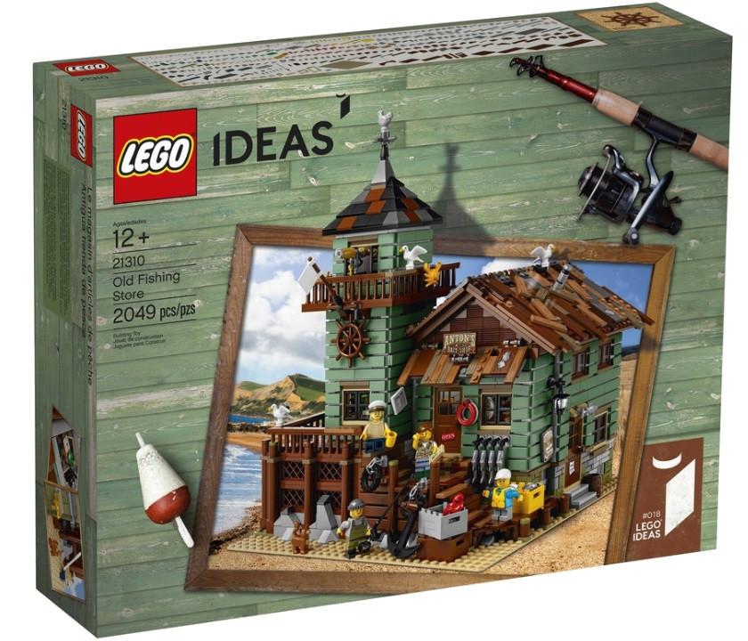 21310 Lego Ideas Старый рыболовный магазин