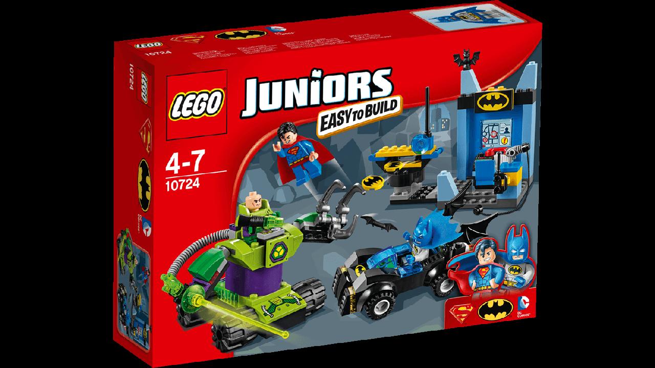10724 Lego Juniors Бэтмен и Супермен против Лекса Лютора, Лего Джуниорс