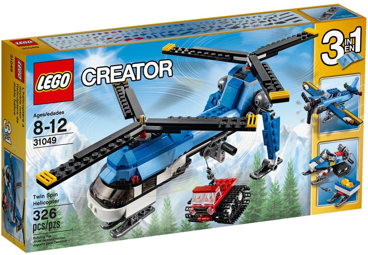 31049 Lego Creator Двухвинтовой вертолёт, Лего Креатор