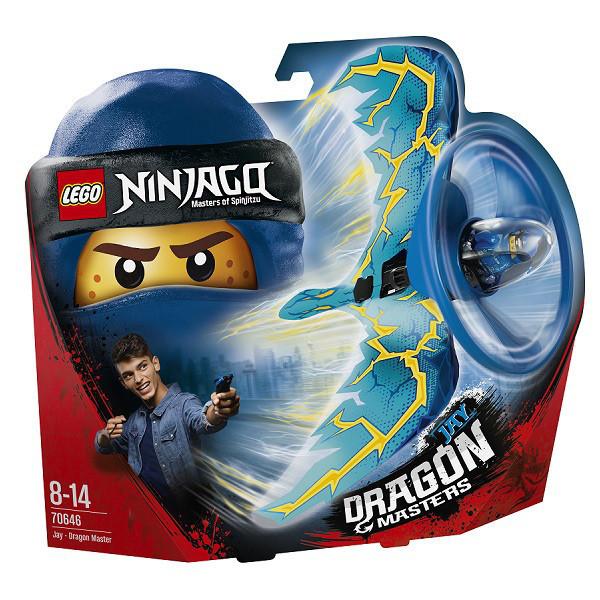 70646 Lego Ninjago Джей — Мастер дракона, Лего Ниндзяго