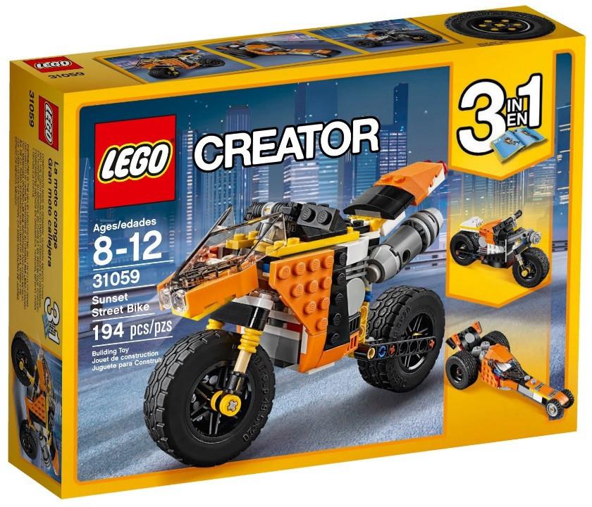 31059 Lego Creator Жёлтый мотоцикл, Лего Креатор