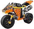 31059 Lego Creator Жёлтый мотоцикл, Лего Креатор, фото 3