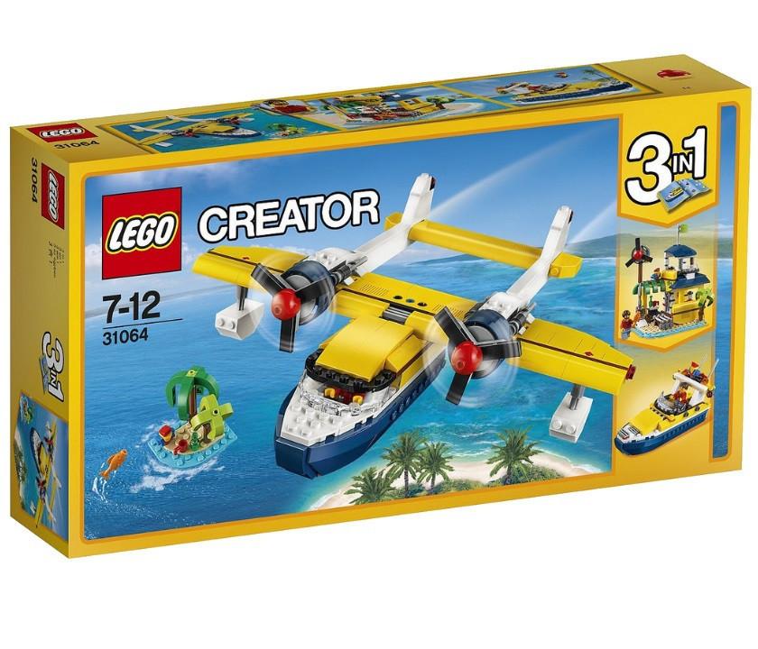 31064 Lego Creator Приключения на островах, Лего Креатор