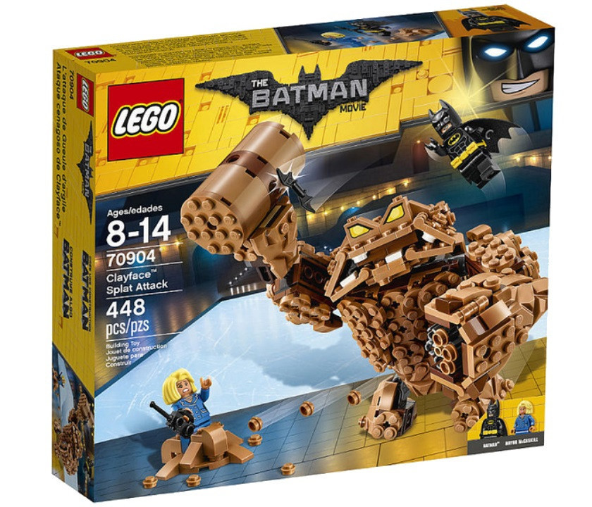 70904 Lego Лего Фильм: Бэтмен Атака Глиноликого