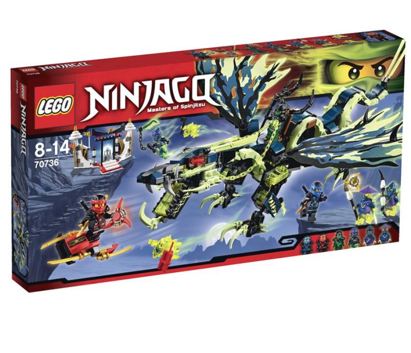 70736 Lego Ninjago Атака Дракона Морро, Лего Ниндзяго