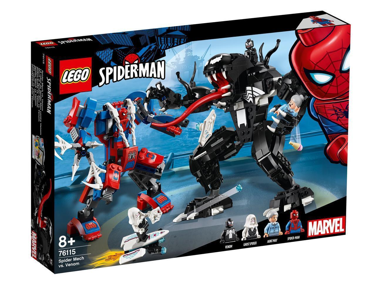 76115 Lego Super Heroes Человек-паук против Венома, Лего Супергерои Marvel