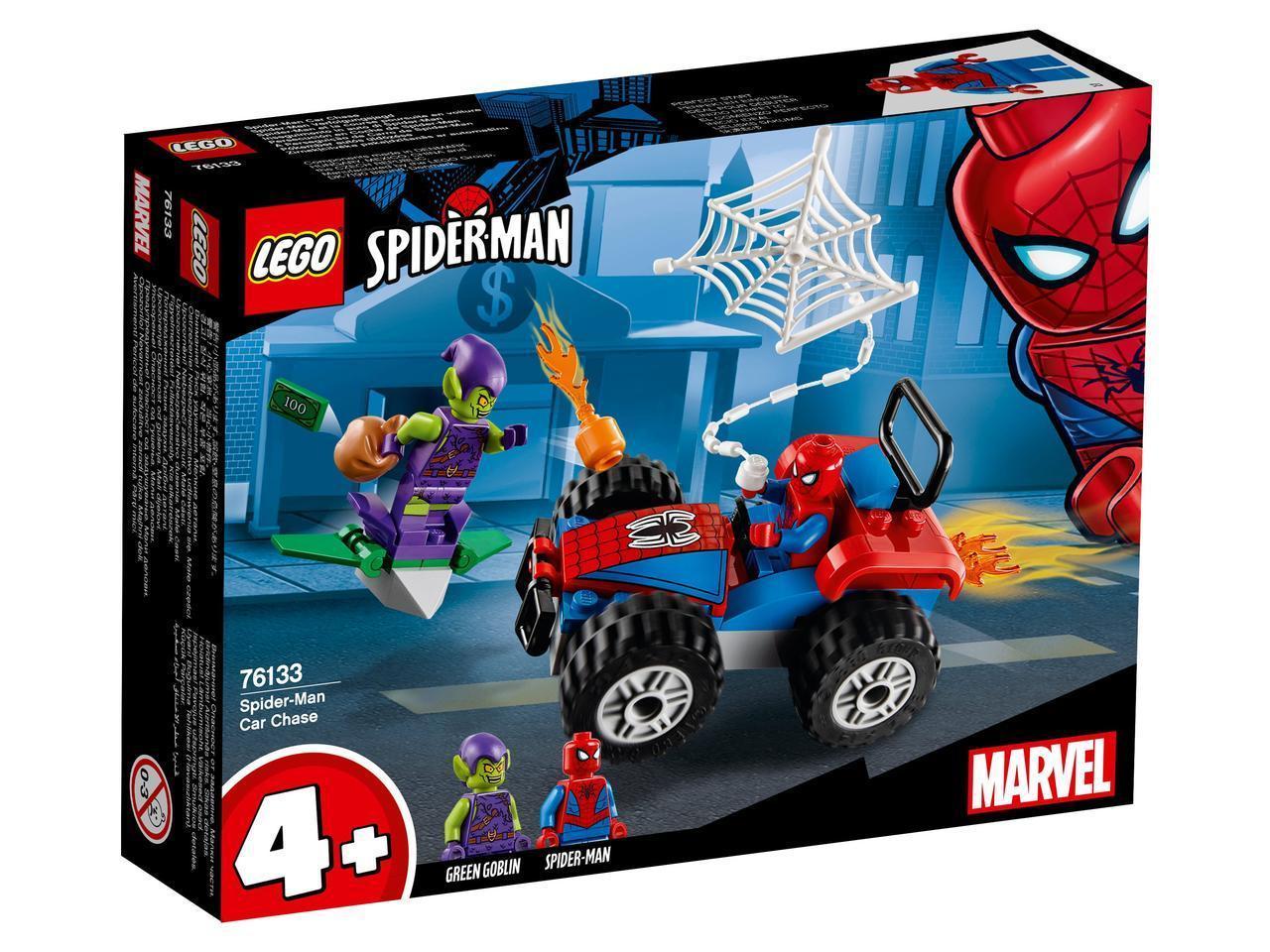 76133 Lego Super Heroes Автомобильная погоня Человека-Паука, Лего Супергерои Marvel