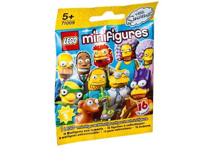 71009 Lego Минифигурка Симпсоны 2-й выпуск (неизвестная, 1 из 16 возможных)