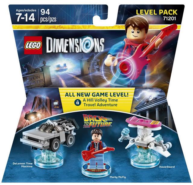 71201 Lego Dimensions Назад в будущее (Level Pack)