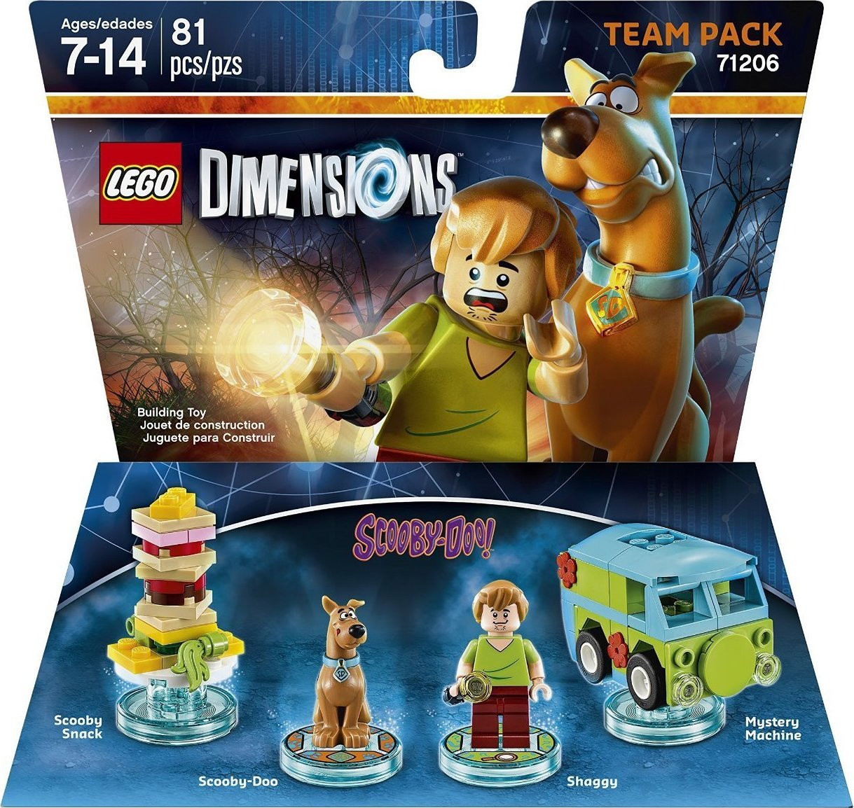 71206 Lego Dimensions Scooby-Doo (Team Pack)