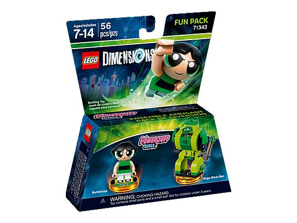 "71343 Lego Dimensions ""Суперкрошки"" Пестик (Fun Pack)"