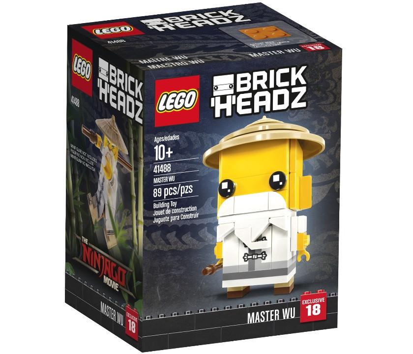 41488 Lego BrickHeadz Мастер Ву, Лего БрикХедз