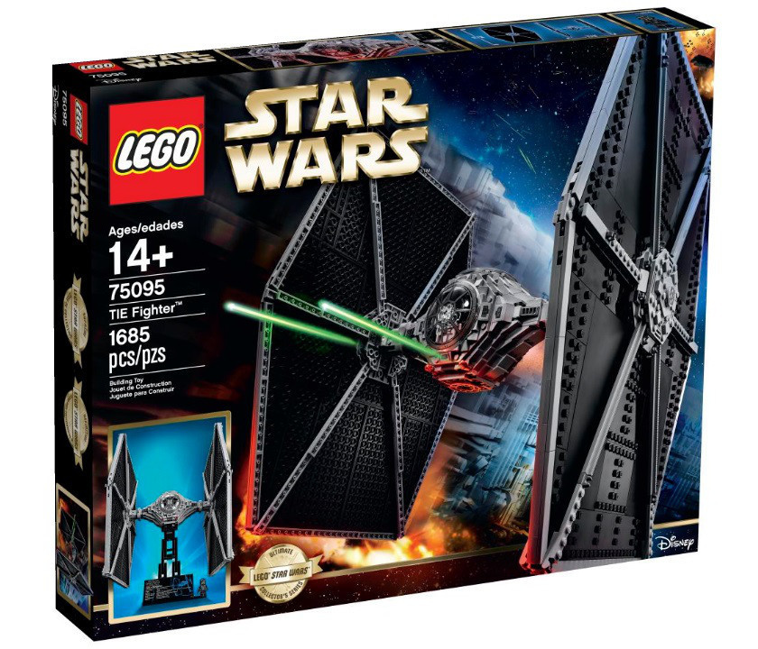 75095 Lego Star Wars Истребитель TIE, Лего Звездные войны