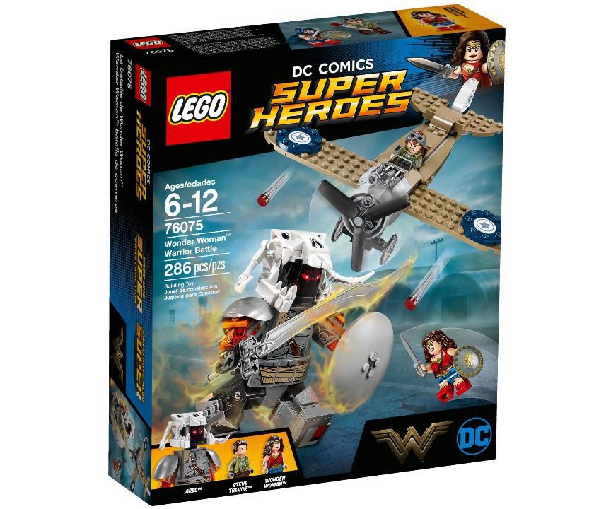 76075 Lego Super Heroes Битва Чудо-женщины, Лего Супергерои DC