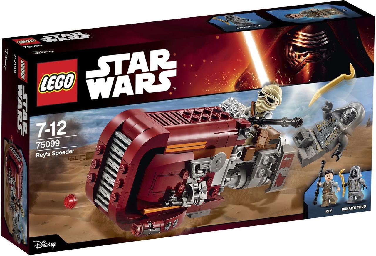 75099 Lego Star Wars Спидер Рей, Лего Звездные войны