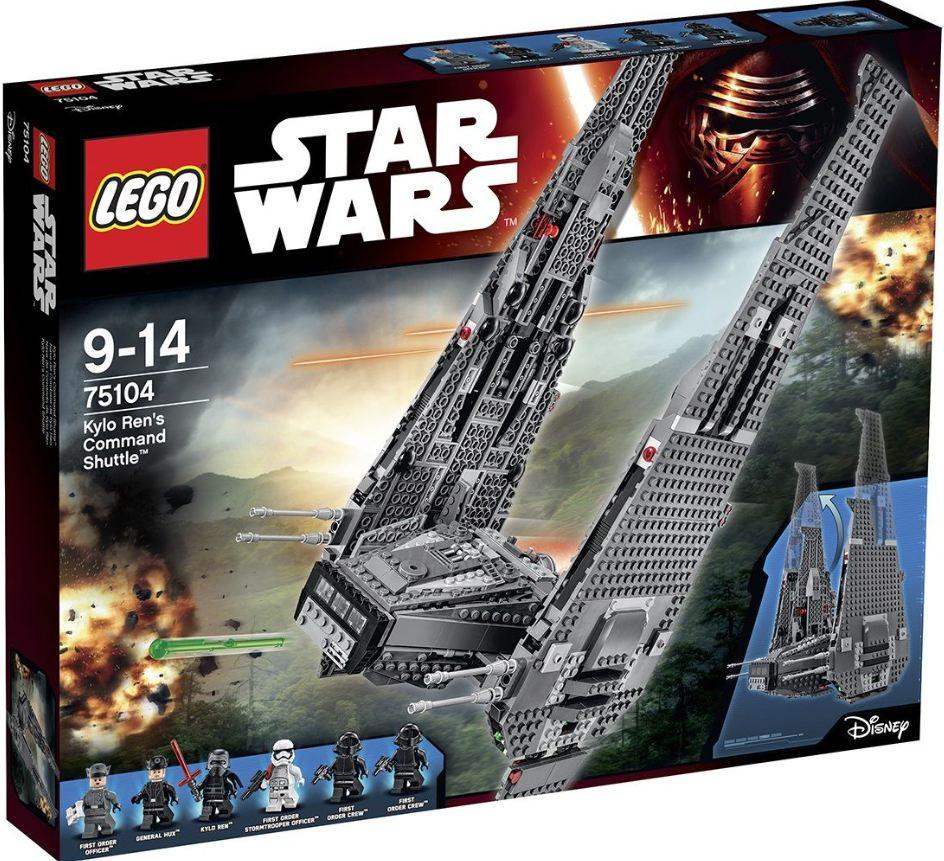 75104 Lego Star Wars Командный шаттл Кайло Рена, Лего Звездные войны