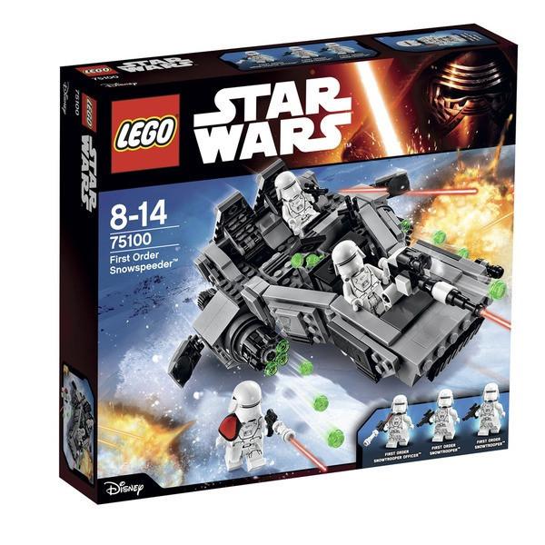 75100 Lego Star Wars Снежный спидер Первого Ордена, Лего Звездные войны