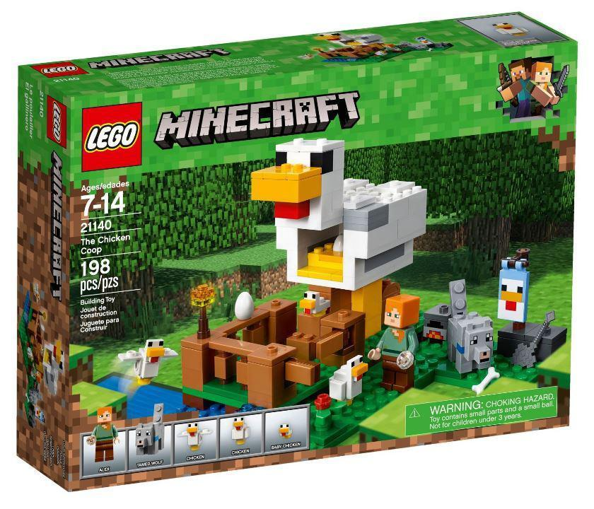 21140 Lego Minecraft Курятник, Лего Майнкрафт