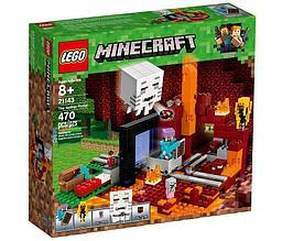 21143 Lego Minecraft Портал в Нижний мир, Лего Майнкрафт