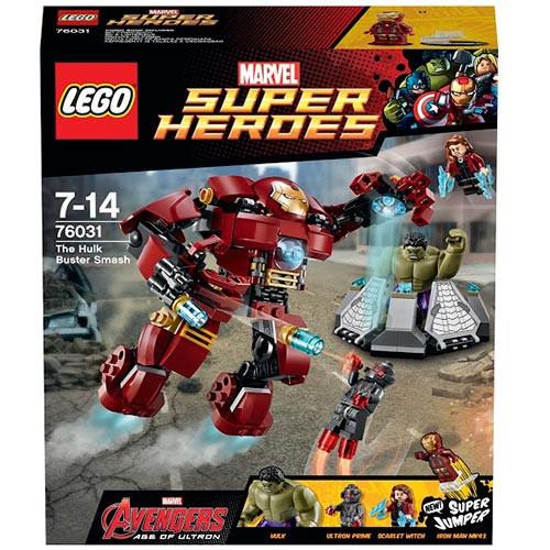 76031 Lego Super Heroes Эра Альтрона: Разгром Халкбастера, Лего Супергерои Marvel