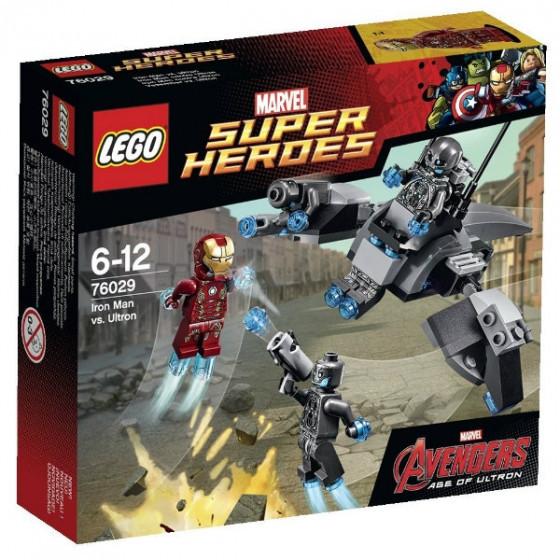 76029 Lego Super Heroes Эра Альтрона: Железный человек против Альтрона, Лего Супергерои Marvel