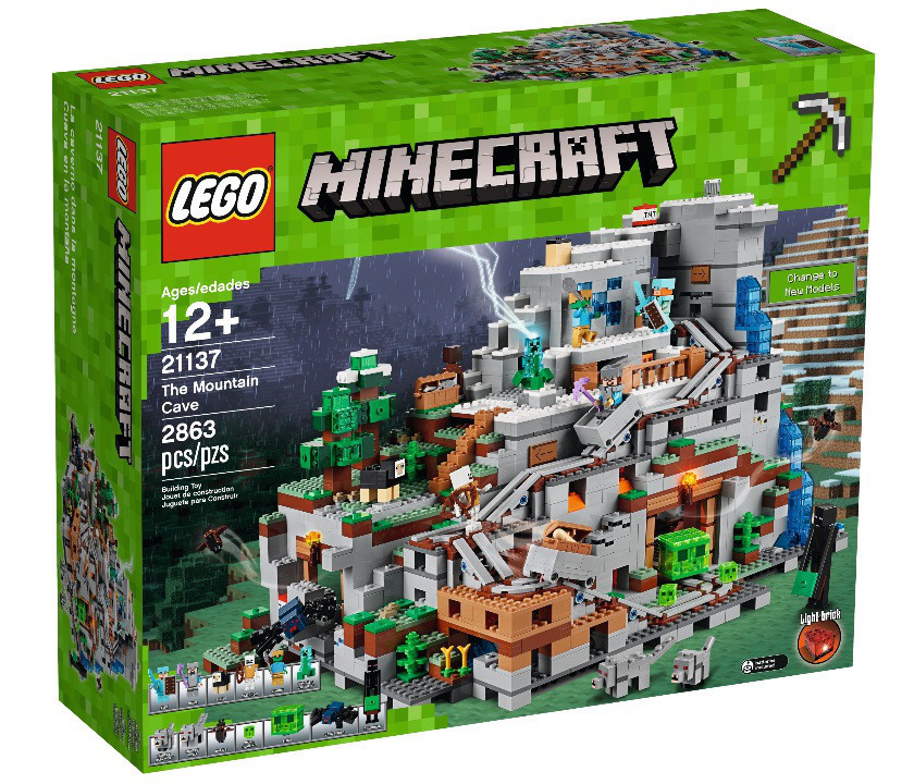 21137 Lego Minecraft Горная пещера, Лего Майнкрафт