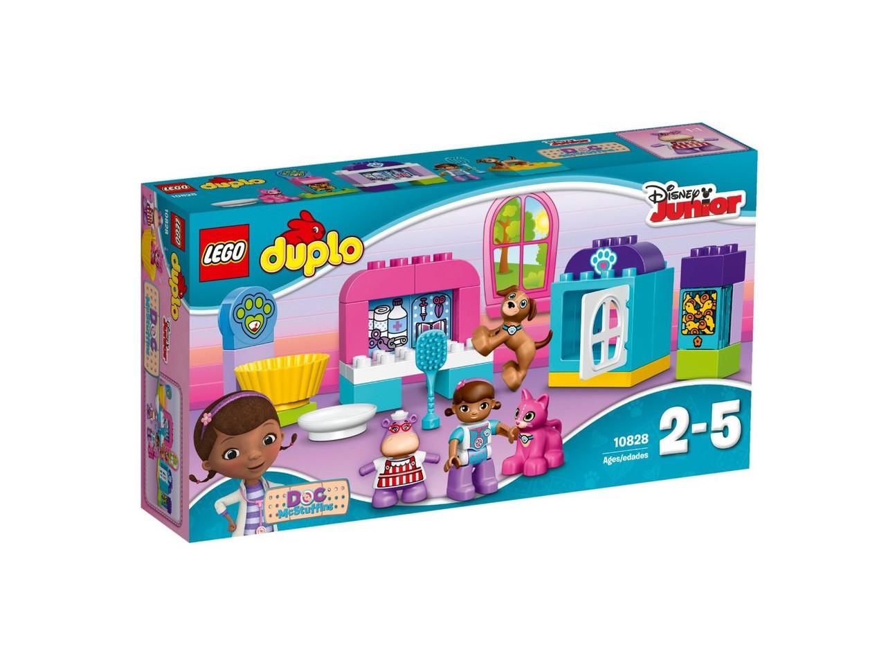 10828 Lego Duplo Ветеринарная клиника доктора Плюшевой, Лего Дупло