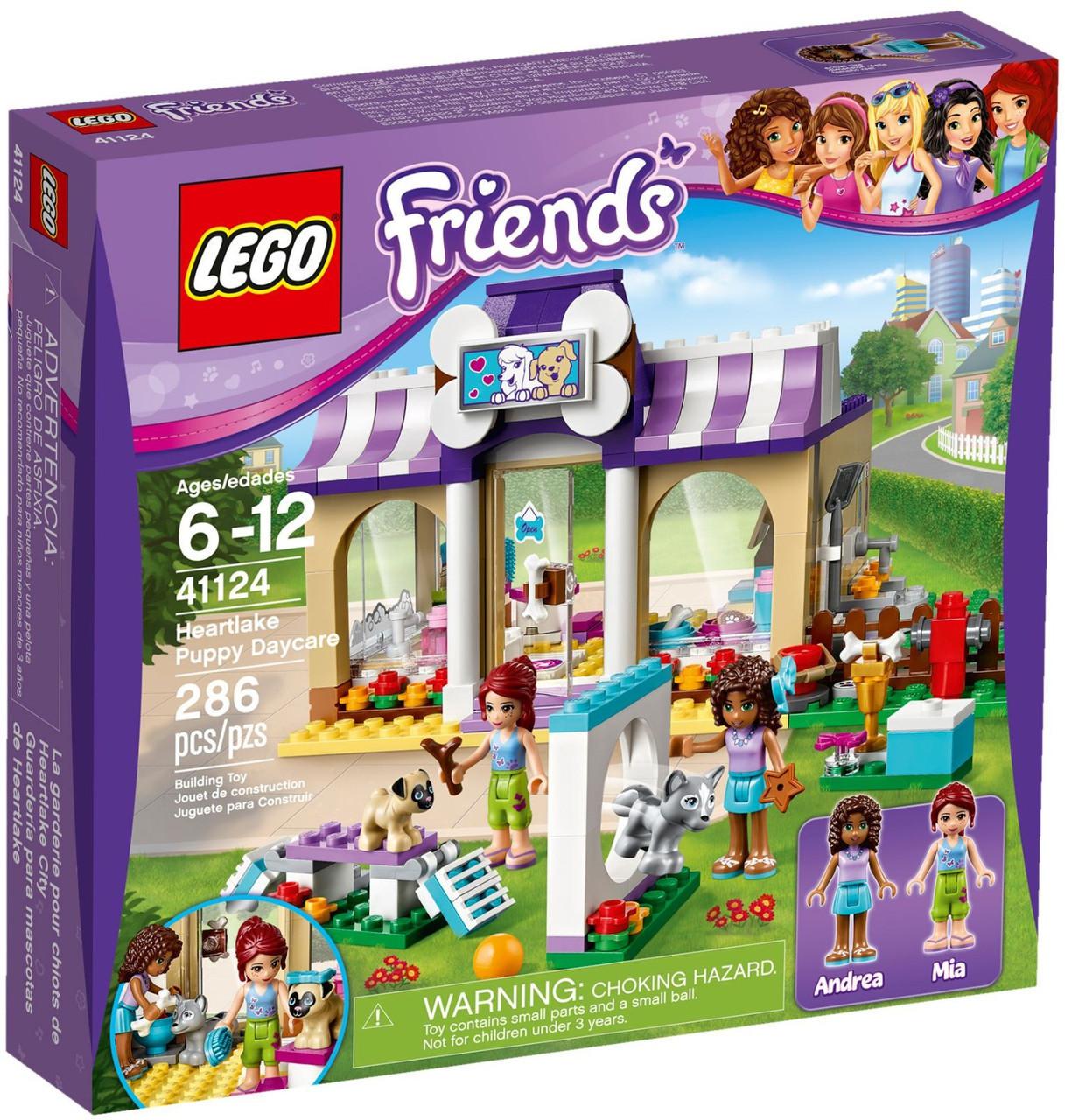 41124 Lego Friends Детский сад для щенков, Лего Подружки