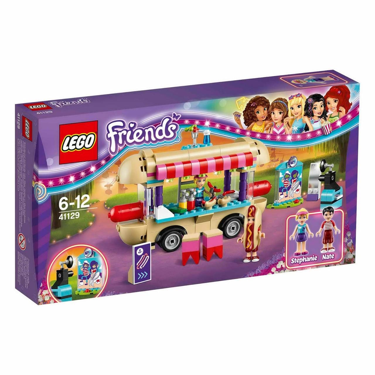 41129 Lego Friends Парк развлечений: фургон с хот-догами, Лего Подружки