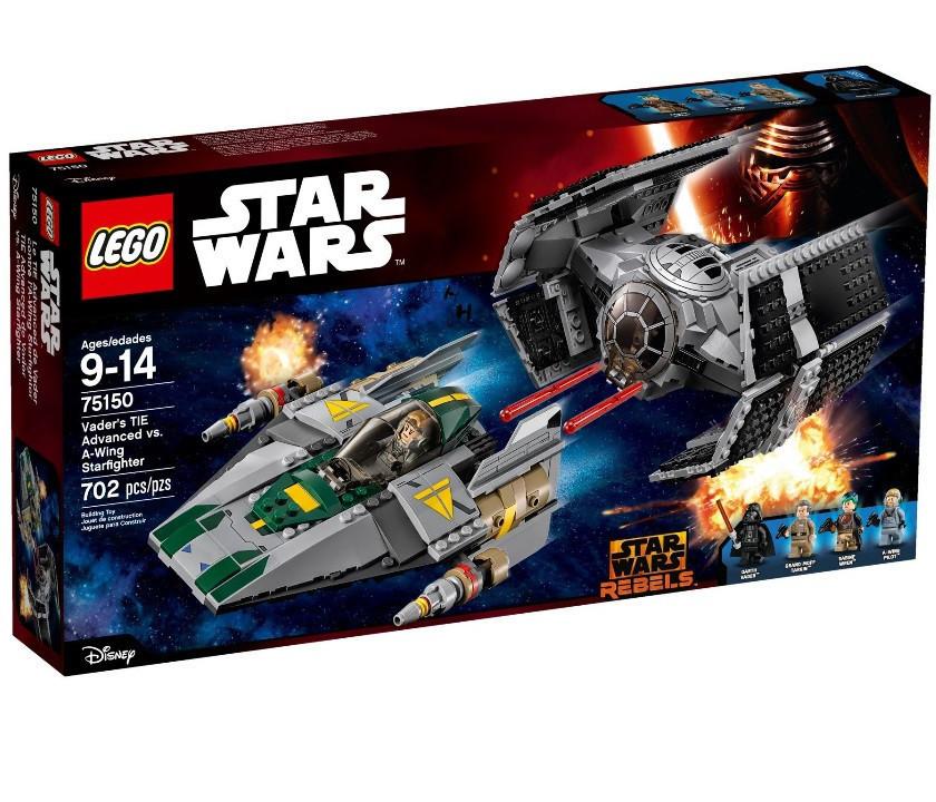 75150 Lego Star Wars Усовершенствованные истребители, Лего Звездные войны