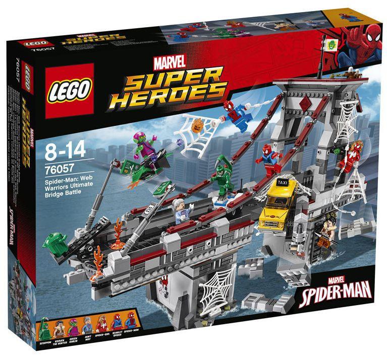 76057 Lego Super Heroes Человек-паук™: Последний бой воинов паутины, Лего Супергерои Marvel
