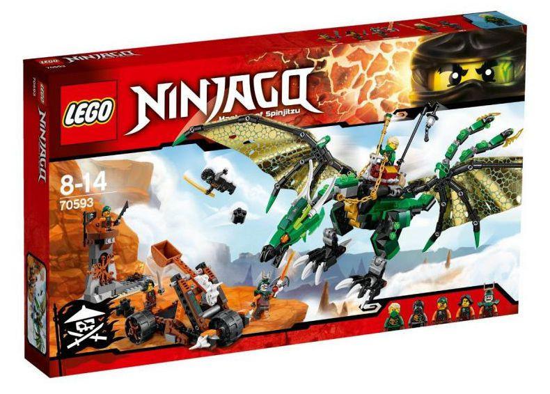 70593 Lego Ninjago Зелёный Дракон, Лего Ниндзяго