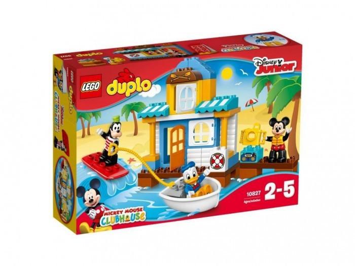 10827 Lego Duplo Микки и его друзья: Домик на пляже, Лего Дупло