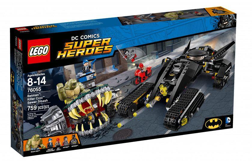 76055 Lego Super Heroes Бэтмен: Убийца Крок, Лего Супергерои DC