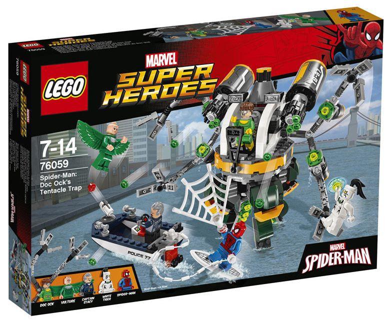 76059 Lego Super Heroes Человек-паук: В ловушке Доктора Осьминога, Лего Супергерои Marvel