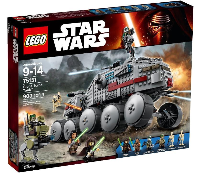 75151 Lego Star Wars Войны Турботанк Клонов, Лего Звездные войны