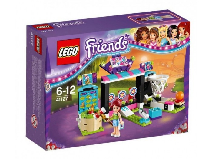 41127 Lego Friends Парк развлечений: игровые автоматы, Лего Подружки