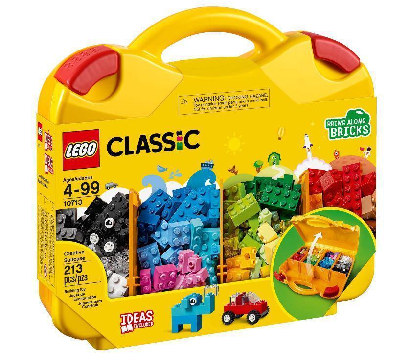10713 Lego Classic Чемоданчик для творчества и конструирования, Лего Классик