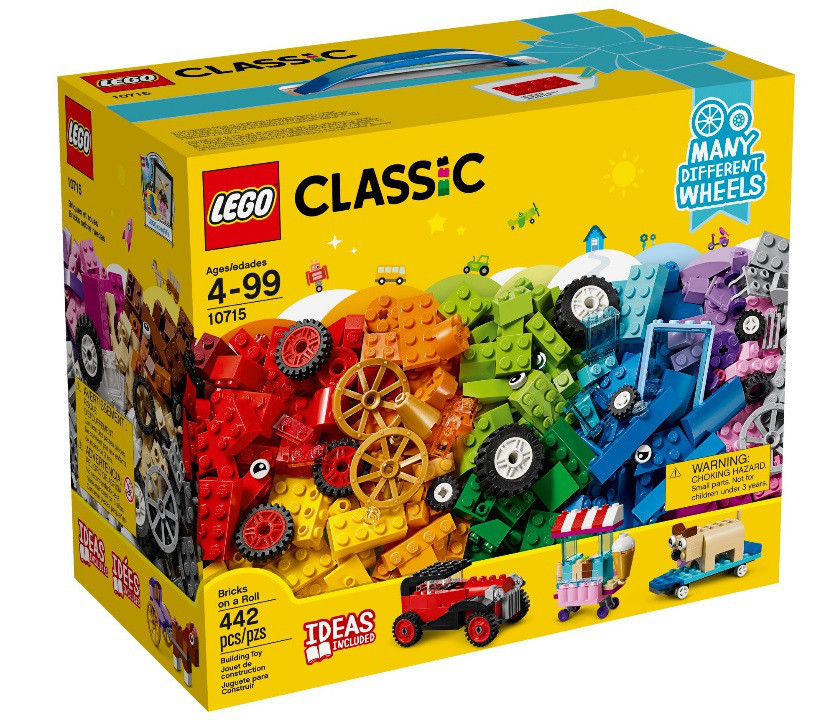 10715 Lego Classic Модели на колёсах, Лего Классик