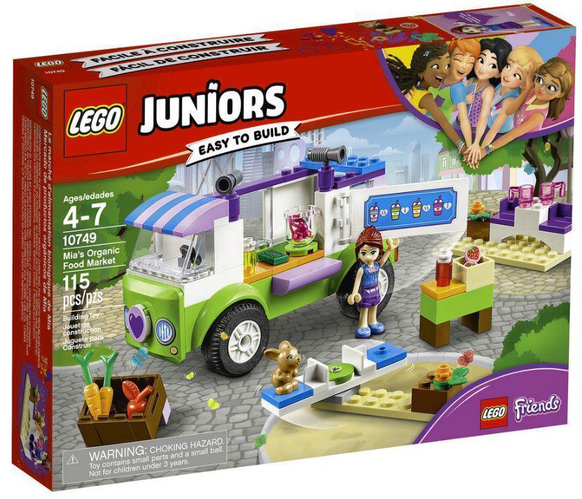 10749 Lego Juniors Рынок органических продуктов, Лего Джуниорс