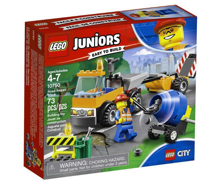 10750 Lego Juniors Грузовик дорожной службы, Лего Джуниорс