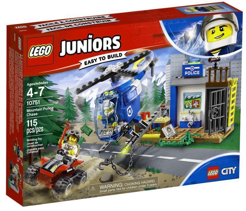 10751 Lego Juniors Погоня горной полиции, Лего Джуниорс