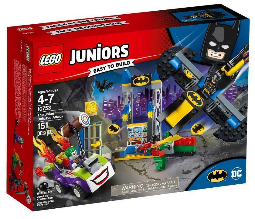 10753 Lego Juniors Нападение Джокера на Бэтпещеру, Лего Джуниорс