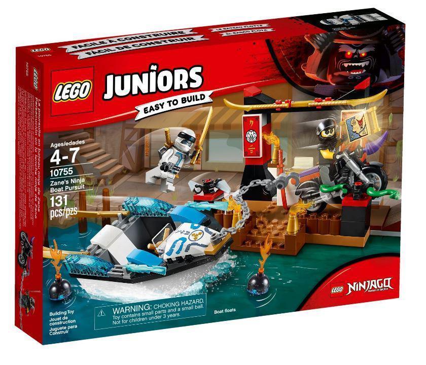 10755 Lego Juniors Погоня на моторной лодке Зейна, Лего Джуниорс